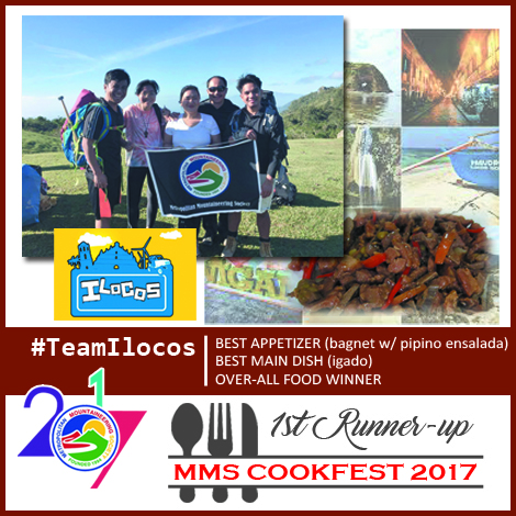 Cookfest 1st Runner Up Teamilocos