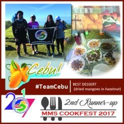 Cookfest 2nd Runner Up TeamCebu