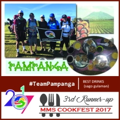 Cookfest 3rd Runner Up TeamPampanga