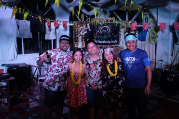 Mau Romarate, Aizel Docog, Ric Valiente, MMS Treasurer Charisse Jadie, Eduardo Villanueva, Batch 2013