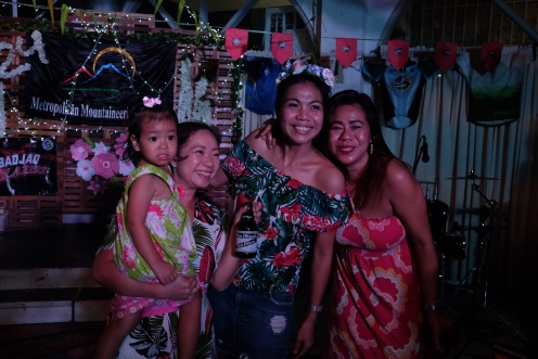 Donna Montalbo and Baby Francesca, Anna Labao, and Angela Anne Alejandro, Batch 2009
