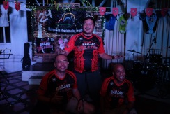 Founding member Long Henson (Batch 1994), Mark Salcedo and Edwin Serapio (Batch 1995)